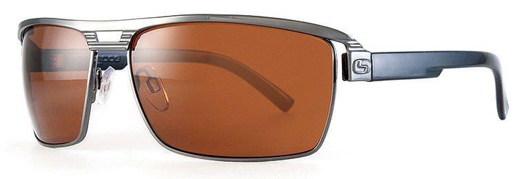 2198b6dd3c8 Sundog Golf Sunglasses Metal Frame FLUID GREY   Brown MELA High Contrast  Lenses